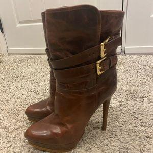 MICHAEL Michael Kors heeled leather boots